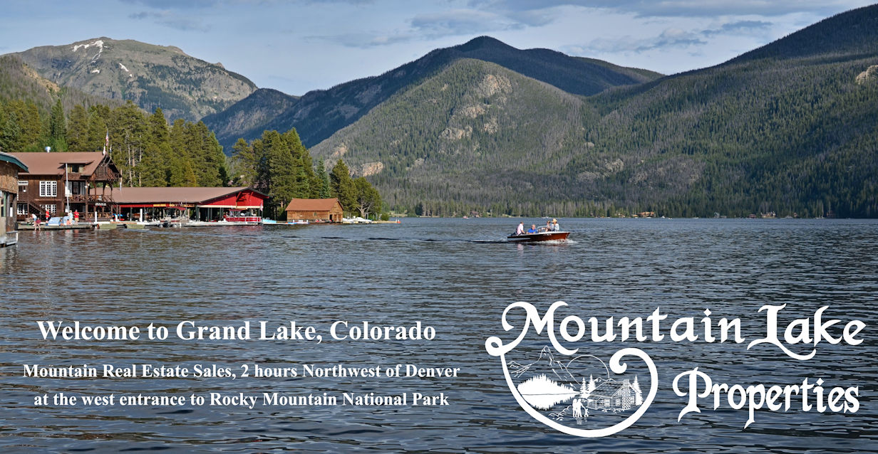 Mountain Lake Properties In Grand Lake Colorado